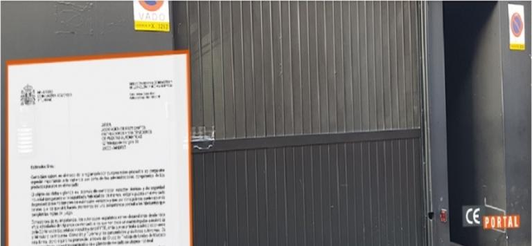 Lee más sobre el artículo El Ministerio incrementa las inspecciones en puertas de garaje, comerciales e industriales