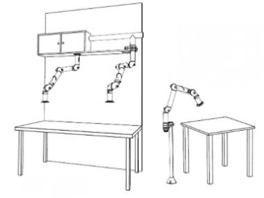 Brazo de Extracción Bench FX2 100 CHEM