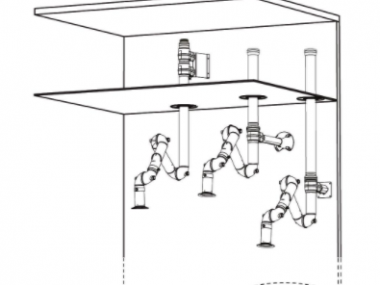 Brazo de Extracción Bench FX2 75 CHEM
