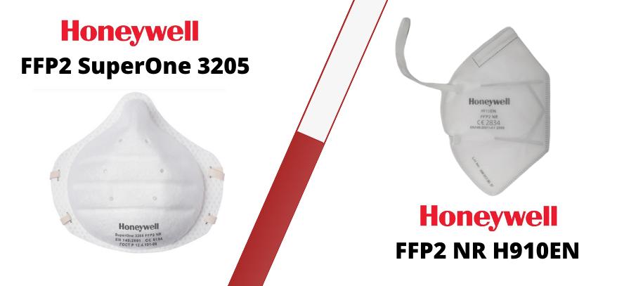 Lee más sobre el artículo Máscaras Filtrantes FFP2 de Honeywell