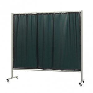 CEPRO Omnium verde pantalla para proteger al trabajador durante trabajos de soldadura