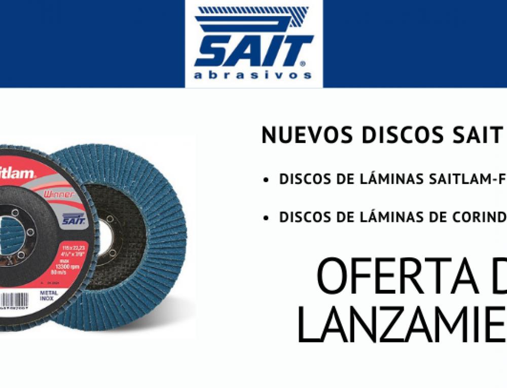 Lanzamiento de discos de láminas SAIT con oferta especial