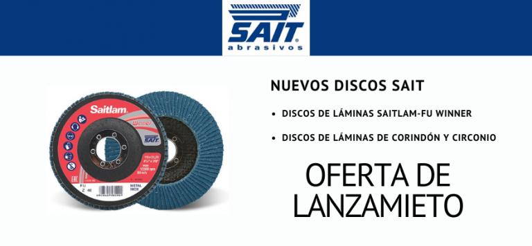 Lee más sobre el artículo Lanzamiento de discos de láminas SAIT con oferta especial