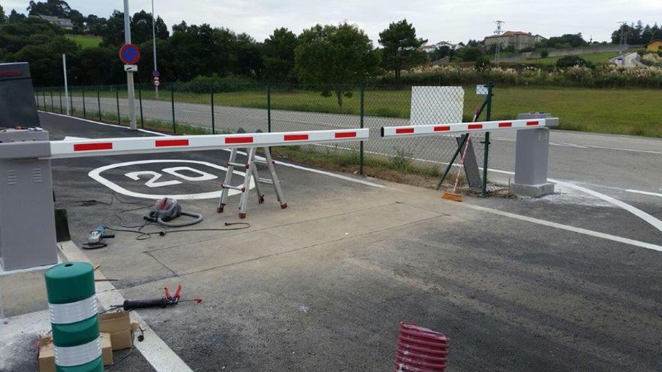 barrera de erreka ultra para paso de vehículos y peatones