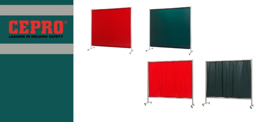 Lee más sobre el artículo Estrenamos pantallas protectoras para soldadura CEPRO con grandes descuentos