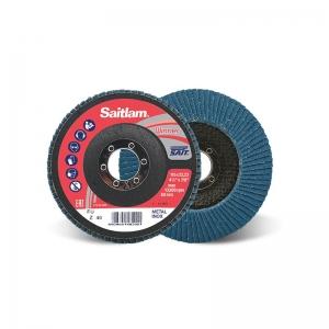 Disco SAIT SAITLAM para acero con corindón y circonio