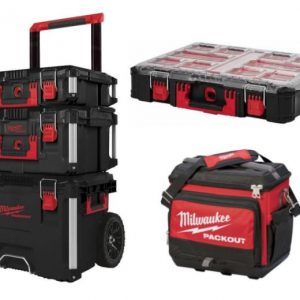 kit set packout de Milwaukee con nevera de regalo
