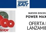 SAIT discos abrasivos Power Max 9.3