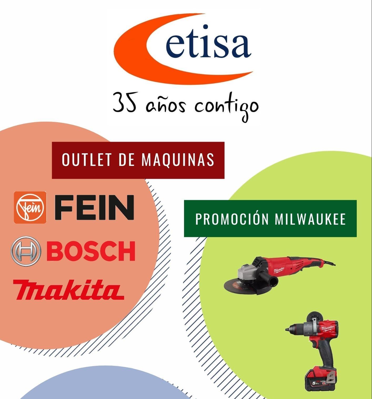ETISA cumple 35 años desde su fundación y estas son nuestras promociones